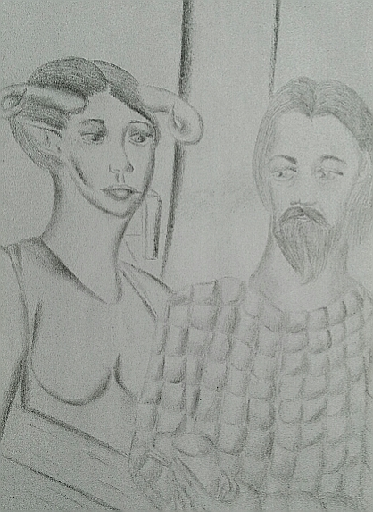 Мои рисунки ручкой и карандашом. - Страница 3 05010