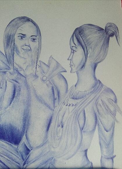 Мои рисунки ручкой и карандашом. - Страница 3 108710