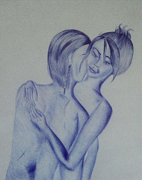 Мои рисунки ручкой и карандашом. - Страница 3 22510
