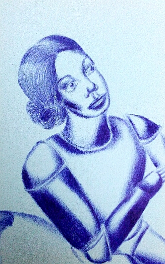 Мои рисунки ручкой и карандашом. Img_2019