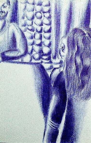 Мои рисунки ручкой и карандашом. Img_2020