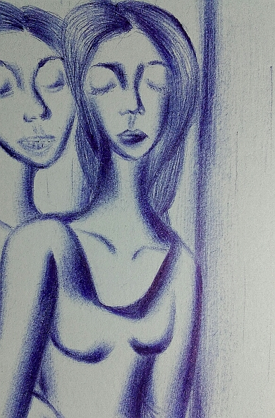 Мои рисунки ручкой и карандашом. Img_2021