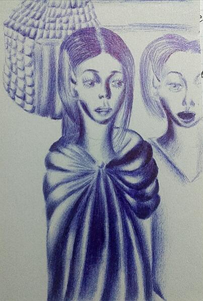 Мои рисунки ручкой и карандашом. Img_2023