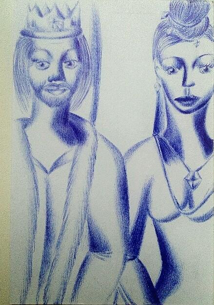 Мои рисунки ручкой и карандашом. Img_2028