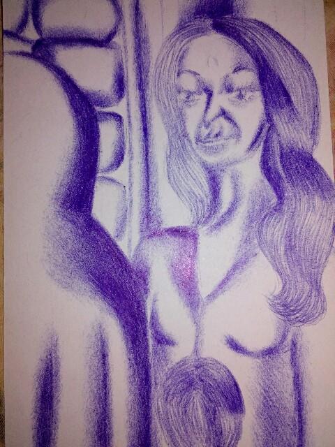 Мои рисунки ручкой и карандашом. Img_2030