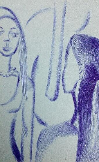 Мои рисунки ручкой и карандашом. Img_2034