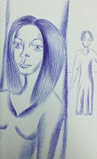 Мои рисунки ручкой и карандашом. Img_2036
