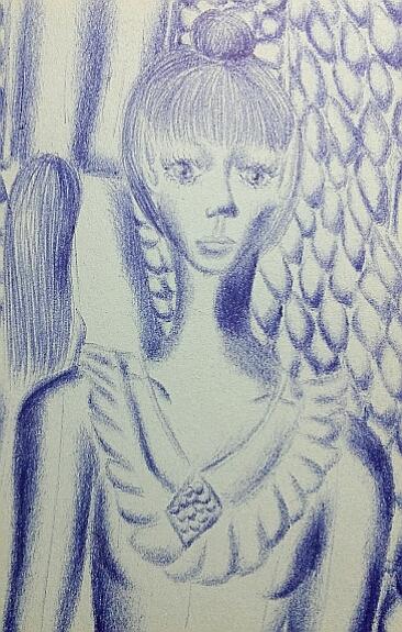 Мои рисунки ручкой и карандашом. Img_2039