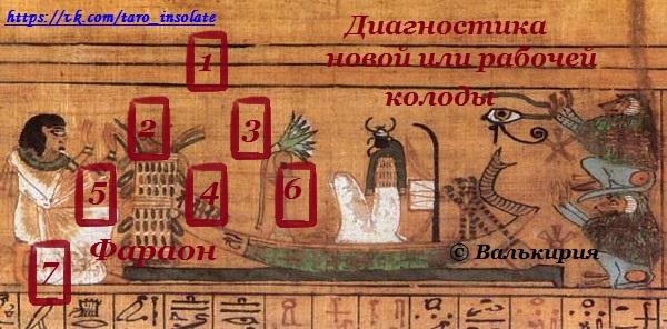 """Расклад """"Фараон"""" 00233"""