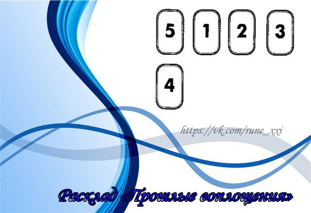 РАСКЛАД «ПРОШЛЫЕ ВОПЛОЩЕНИЯ» 00296