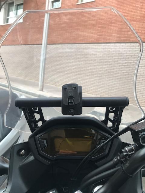Barra para GPS a precio razonable y de muy buena calidad. Bonus: Protector Radiador. Img_3812