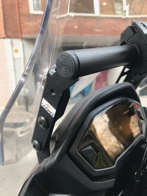 Barra para GPS a precio razonable y de muy buena calidad. Bonus: Protector Radiador. Img_3814