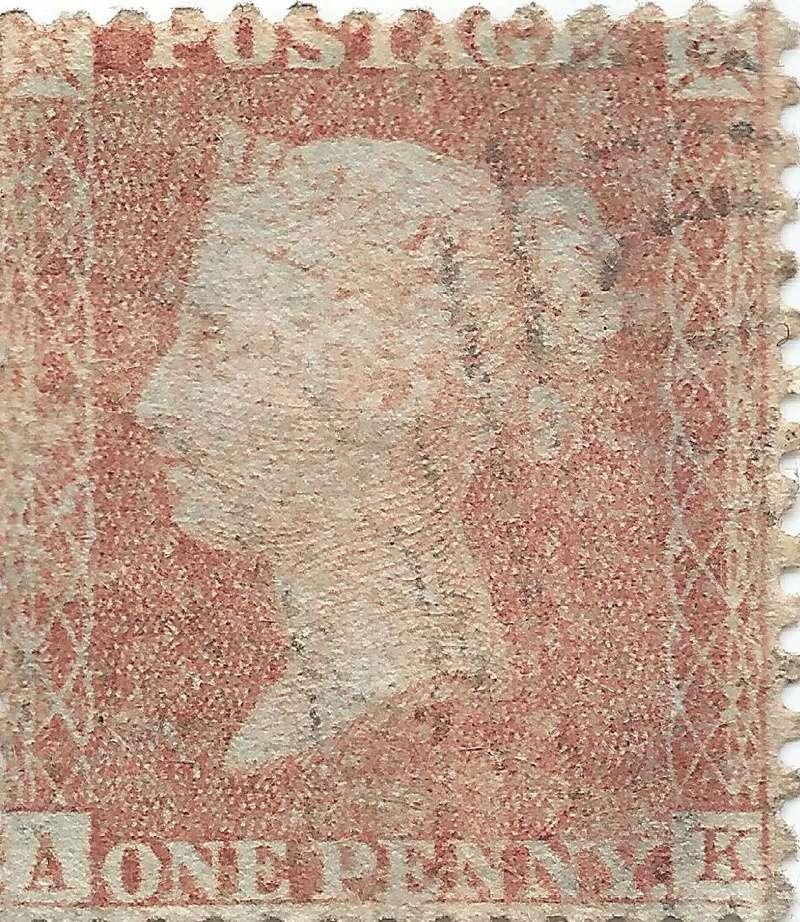 Briefmarken - Briefmarken Platte England Victor10