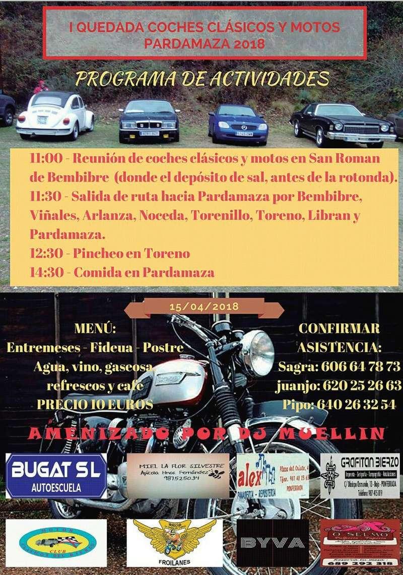 43205 León-León. 1ª Kedada Coches Clasicos y Motos Progra12