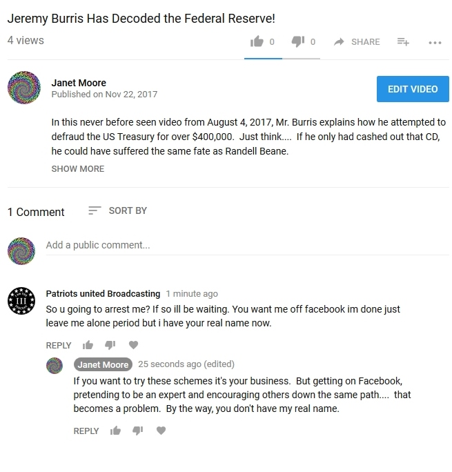 OMG! Jeremy Burris Challenges Janet Moore? Jeremy10