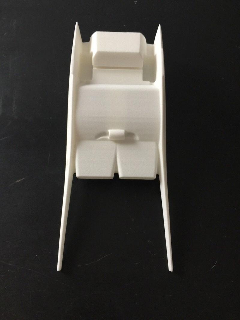 "1:24 scale 3d printed ""Stiletto"" show rod body 810"