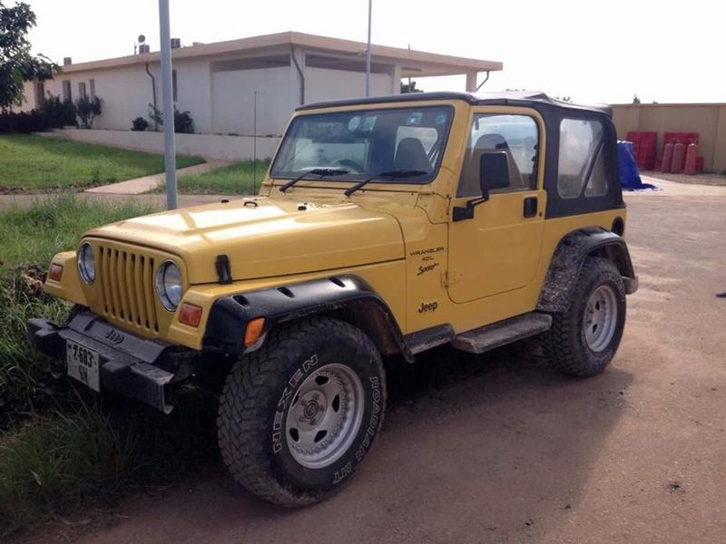 E questa è la mia ragazza! Jeep110