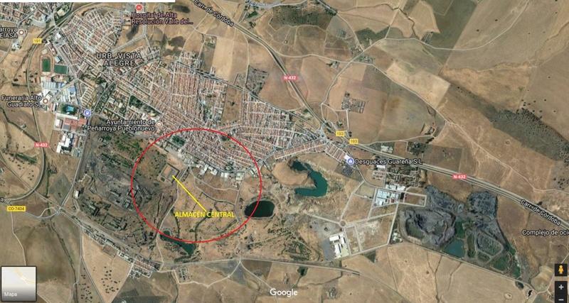 I Mesa de Intercambio de minerales en Peñarroya-Pueblonuevo (Córdoba) Vista111