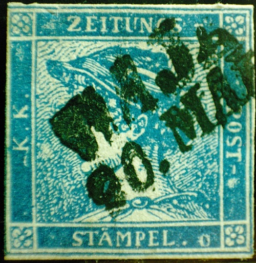 Newspapers stamps. Yellow Mercury Wiem postmark and others Sg206011