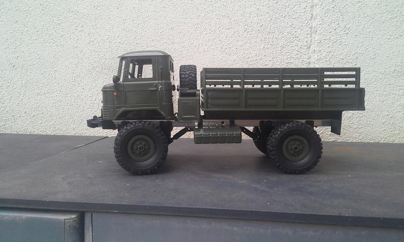 Unimog U 1300 L435 militar (como no) 20180313