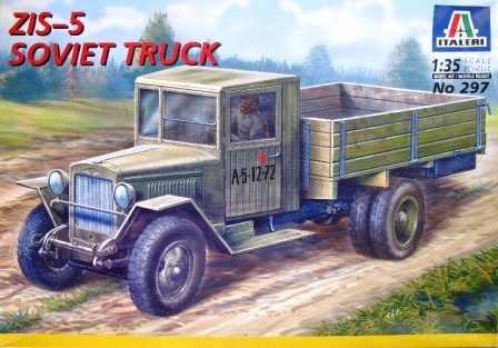ZiS-5 Soviet Truck *** ZiS-3 76,2 mm  13396411