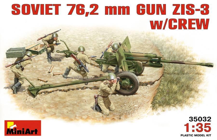 ZiS-5 Soviet Truck *** ZiS-3 76,2 mm  Ma350310