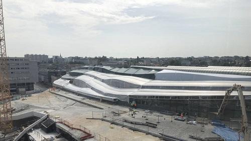 La gare de Rennes commence à ressembler à quelque chose 660f6910