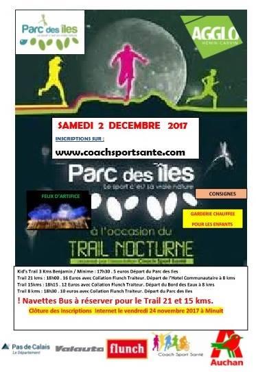 trail - trail nocturne de la Saint Nicolas 22007810
