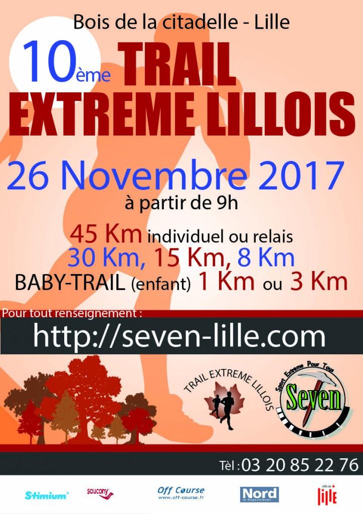 trail - trail des remparts lillois Affich10