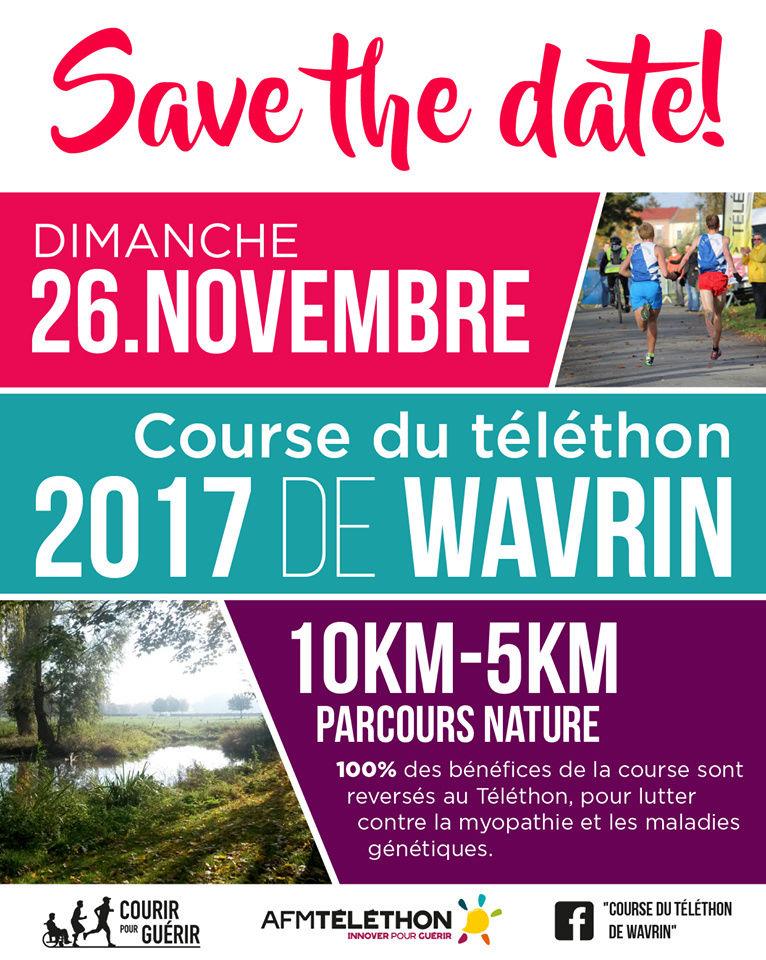 Course du téléthon Wavrin Course10