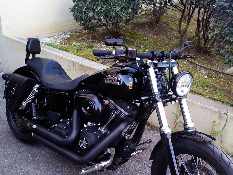Sissy bar sur forty eight B10