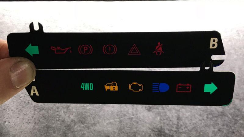 Démontage tableau de bord sur un zuk essence de 2002. Tb1310