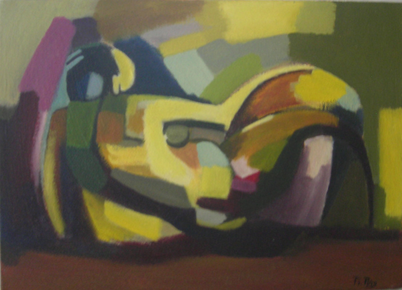 artiste peintre propose tableaux à acheter Allong10