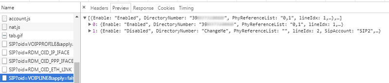 Semplice metodo (solo browser) per recupero info infostrada da ZyXEL Step610