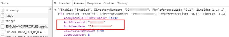 Semplice metodo (solo browser) per recupero info infostrada da ZyXEL Step710