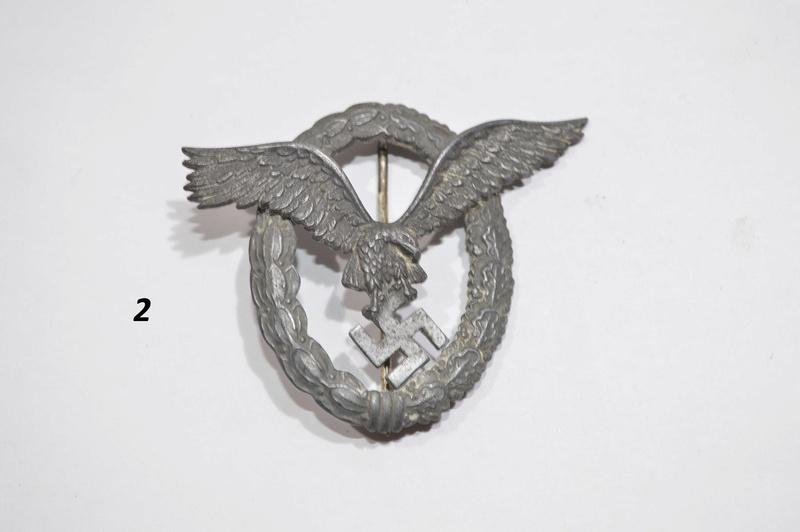 Identifications Insigne Allemand WW2  Dsc_4027
