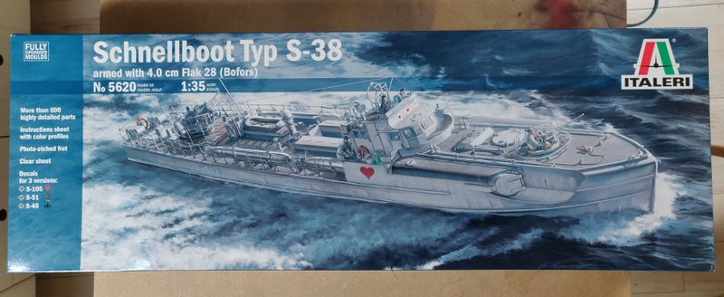 Schnellboot Type S38 1/35 Italéri Img_2022