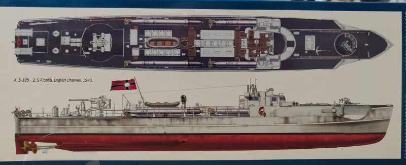 Schnellboot Type S38 1/35 Italéri Img_2023
