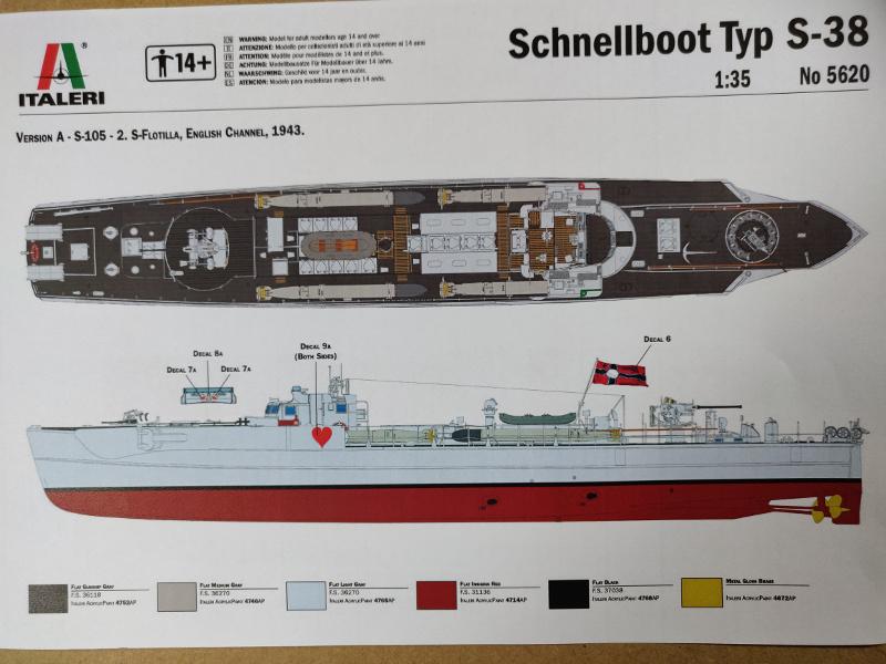 Schnellboot Type S38 1/35 Italéri Img_2037