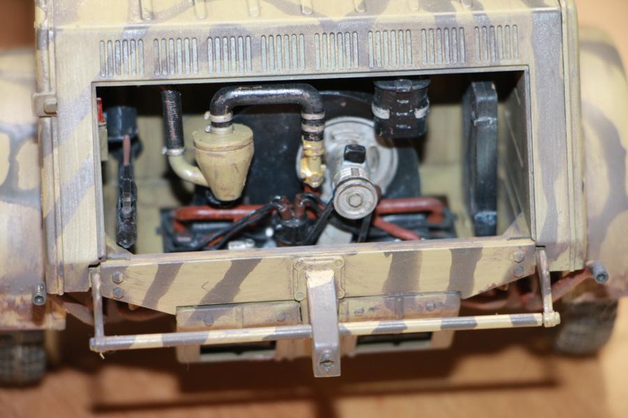Kübelwagen type 82 1/16 Tamiya - Page 2 Img_6534