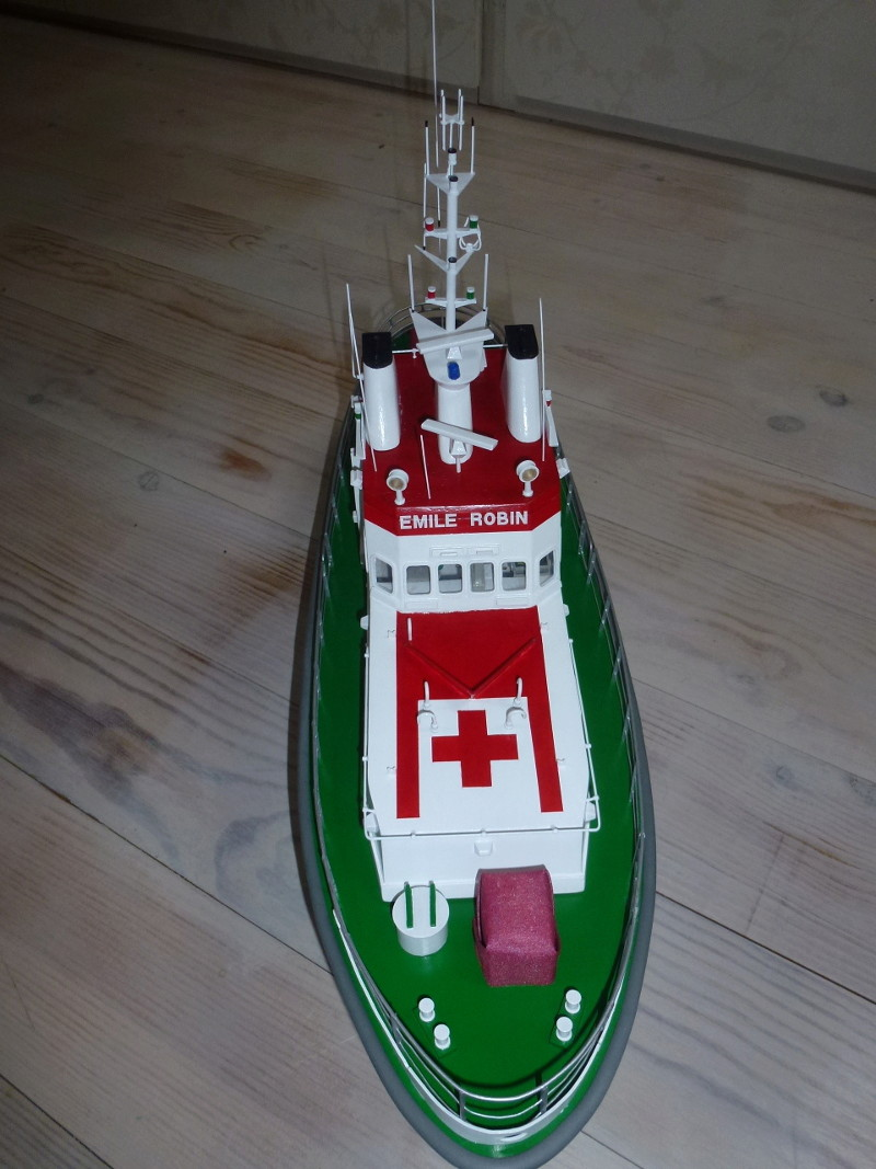 Emile Robin Billing Boats Echelle 1/33 L1060921