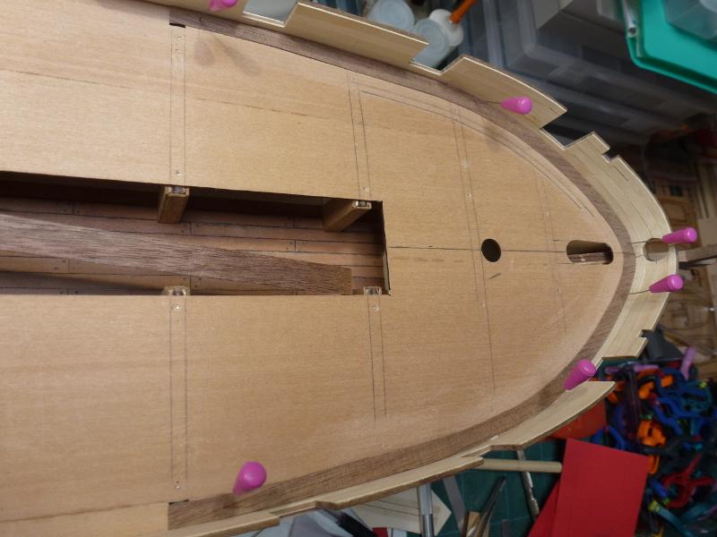 L'Astrolabe coque cuivrée au 1/50 Mantua avec modification plans AAMM L1070118