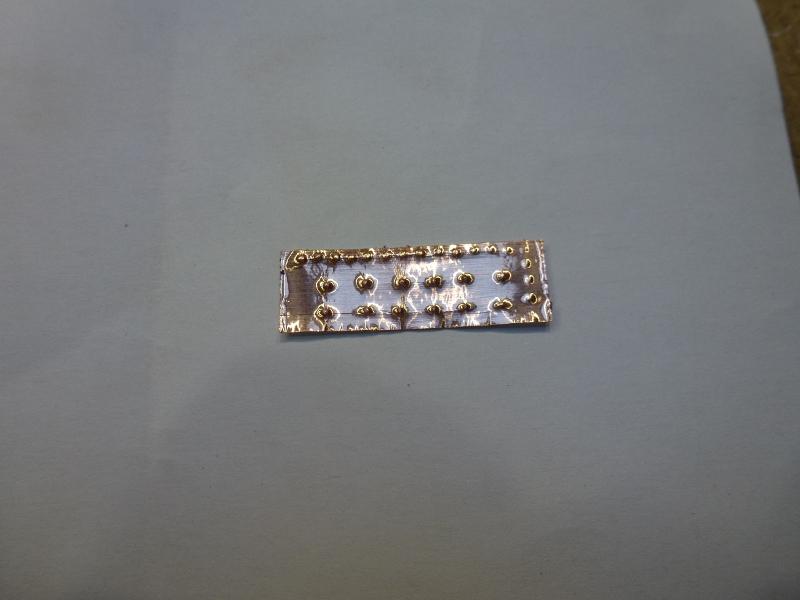 Doublage des coques avec des plaques de cuivre L1070424