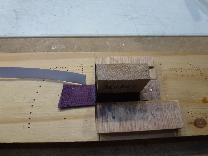 Doublage des coques avec des plaques de cuivre L1070426