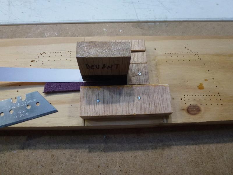 Doublage des coques avec des plaques de cuivre L1070427