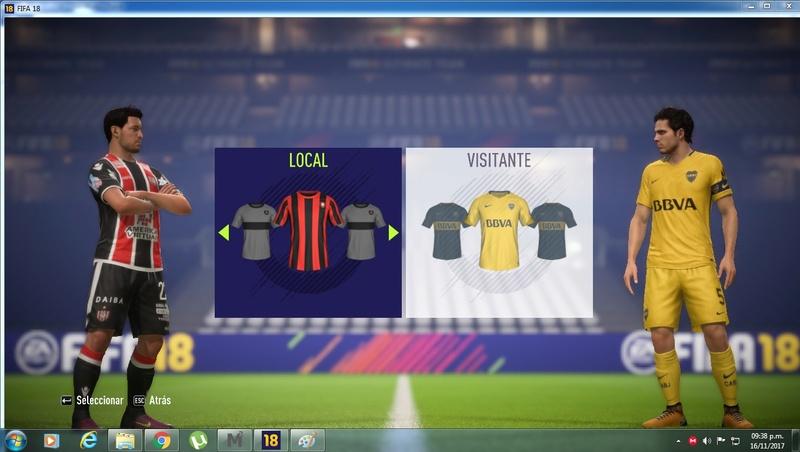 FA MOD | FIFA 18 Sin_ty10