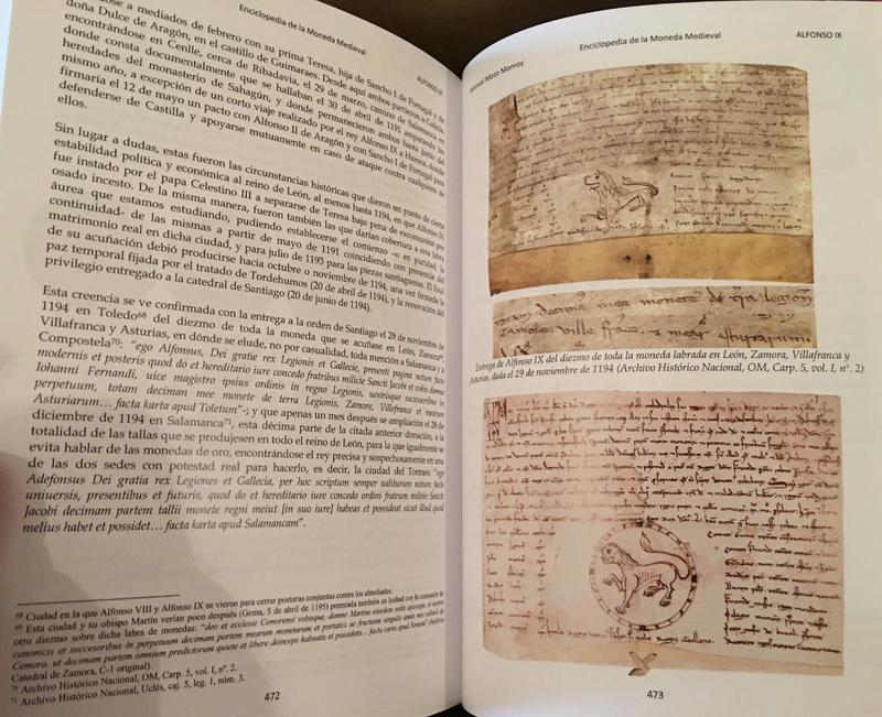 Enciclopedia de la Moneda Medieval Románica de Castilla y León Ss.VIII-XIV 0410