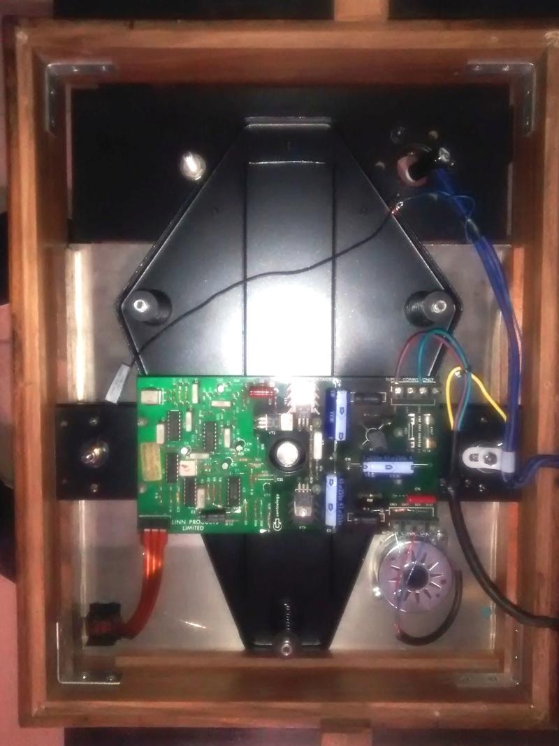 Ho upgradato un vecchio LP12 con Cirkus kit,nuovo motore e base trampolin mk1 Img_2021
