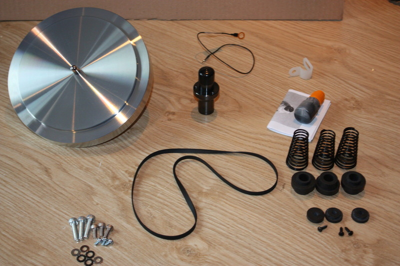Ho upgradato un vecchio LP12 con Cirkus kit,nuovo motore e base trampolin mk1 S-l16011
