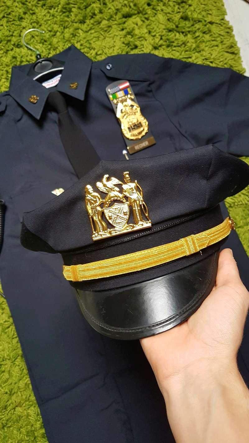 Mon debut de tenue : sergeant du poste 55 20170910